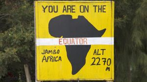 Which African Countries Does the Equator Pass Through?