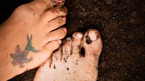 What aftercare should you use for a foot tattoo?