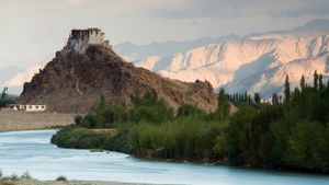 Did Ancient Indus River Valley Cities Have Military Protection?