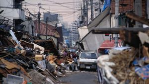 What is the average number of earthquakes per year in Japan?