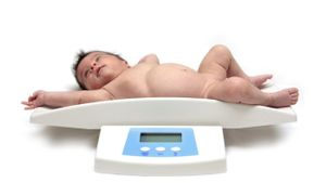 What is the average weight of a 6-month-old baby?