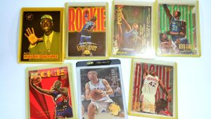 Which basketball cards are worth money?