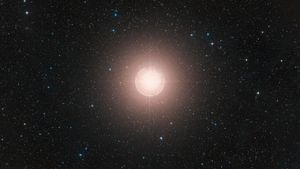 How Hot Is Betelgeuse Compared to the Sun?
