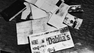 Who was the Black Dahlia?