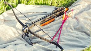 Can a convicted felon own a crossbow?