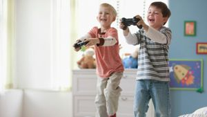 Can Kids Get a Good Workout From Playing Video Games?