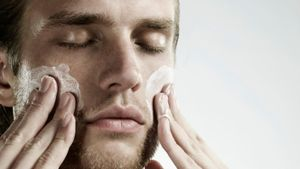 How can men care for their skin?