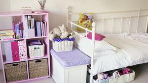 What can you use for storage for small bedrooms?