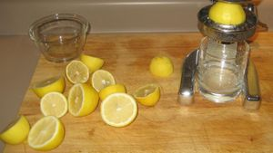 What Is the Chemical Formula for Lemon Juice?