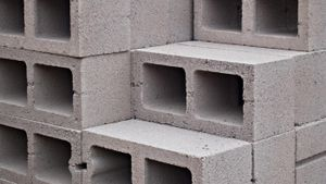 What is the weight of a cinder block?