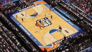 Which city hosts the Final Four every five years?