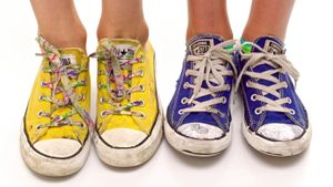 In which country are Converse shoes made?