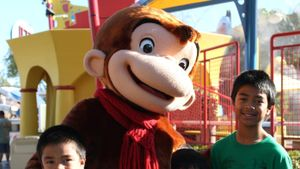Why does Curious George not have a tail?