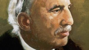 What did Ernest Rutherford discover about the atom?