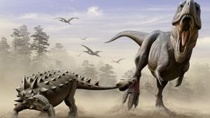 How did the euoplocephalus protect itself?