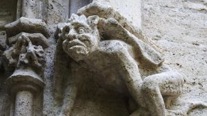 Where did gargoyles originate from?