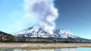 When did Mount Saint Helens erupt?