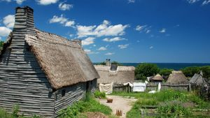 Where did the Pilgrims live?