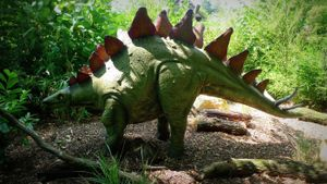 Did the stegosaurus have two brains?