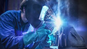 What are the different types of welding?