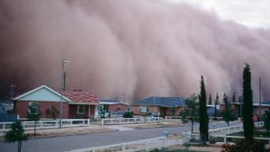 Where Do Dust Storms Occur?