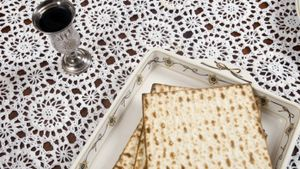 What do you eat during Passover?