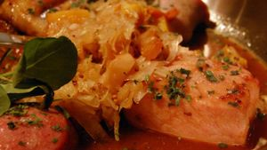 Is Eating Pork and Sauerkraut a New Year's Day Tradition?