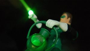 Who are the enemies of the Green Lantern?