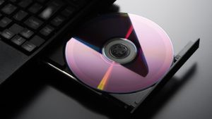 When was the first DVD player invented?