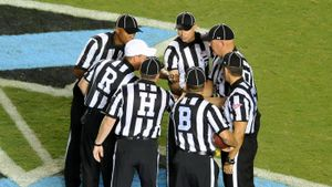 What do football referee letters stand for?