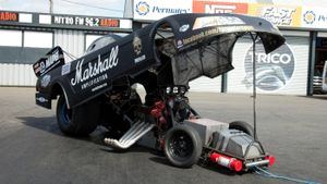 What are funny cars?