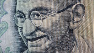 "Why was Gandhi called ""Mahatma""?"