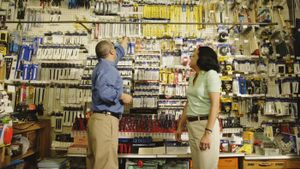 What does a hardware store sell?