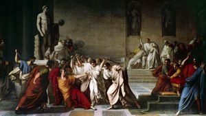 "What holiday is being celebrated in ""Julius Caesar""?"