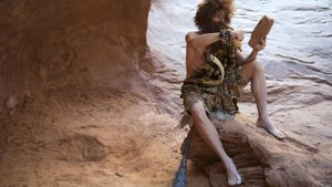 How did cavemen communicate?