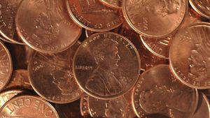 How many pennies are in $1 million?