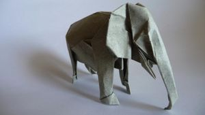 How Do You Make an Origami Elephant?
