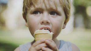 Is ice cream unhealthy?