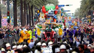 Where is the largest Mardi Gras celebration?