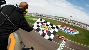 How long does a NASCAR race last?
