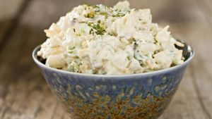 How long will potato salad keep in refrigerator?