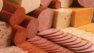 What is luncheon meat made from?