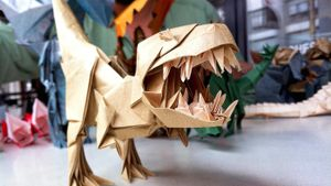 How Do You Make an Origami T. Rex?