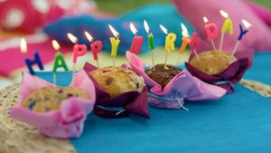 How many birthdays does the average person have?