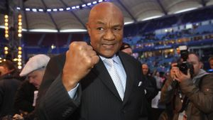How many of George Foreman's children are named George?