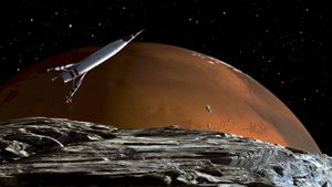 How many moons does Mars have?