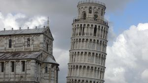 What Material Is the Leaning Tower of Pisa Made Of?
