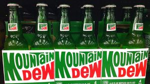 How much caffeine is in Mountain Dew?