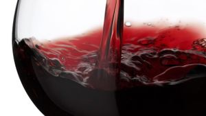 How much sugar is in red wine?