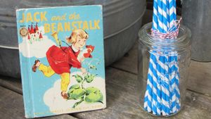 "What is the name of the giant in ""Jack and the Beanstalk""?"